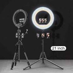 MAMEN 13 21 inch 18 Selfie ring light LED Photography 45cm Lighting video studio For Youtube Live Stream Photo With Tripod