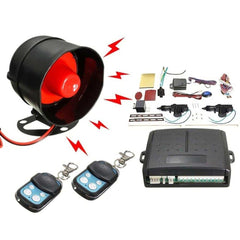 New Universal Car Alarm Remote Control Security System 2 Door Central Door Lock Locking Kit Set Keyless Entry System