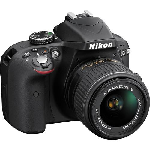 Nikon  D3300 DSLR Camera with 18-55mm Lens Kits  (Brand New)