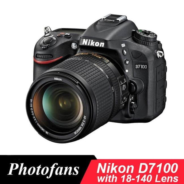 Nikon  D7100 DSLR Camera with Nikon 18-140mm VR Lens