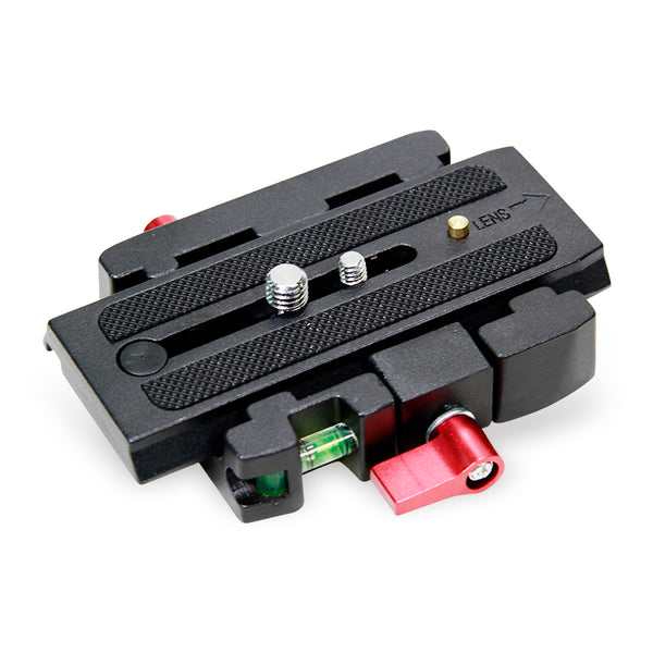 Tripod monopod universal quick-disassembly plate base head conversion quick-loading plate splint stabilizer quick-mount plate base