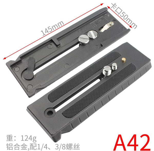 . Tripod quick-loading board universal head base such as shadow S stabilizer accessories fast-dismantling SLR camera Lilong 323