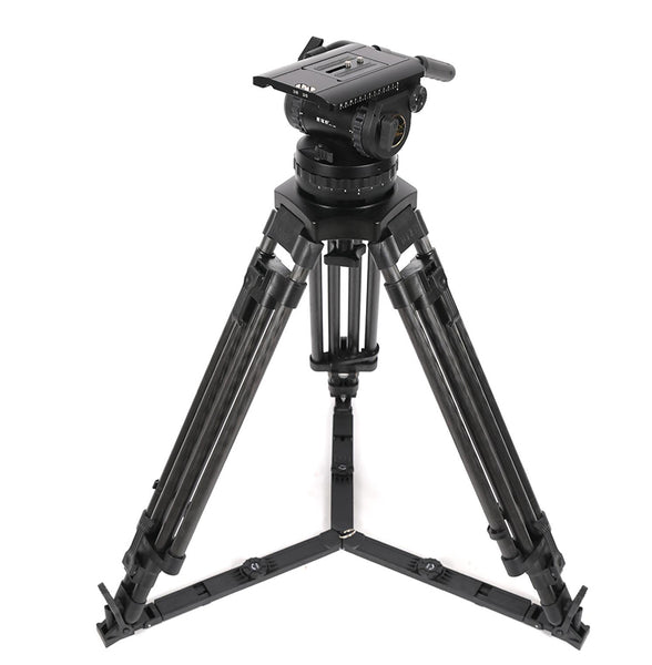 Turris TX-V25T PLUS hydraulic damping tripod professional camera film scaffolding 150mm bowl mouth