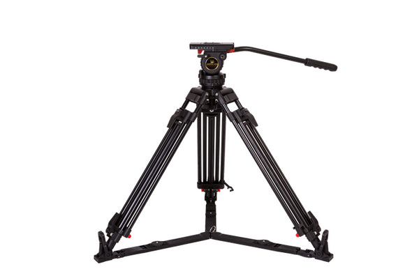 Jet shot JP-v8L broadcast-grade camera tripod advanced hydraulic damping cloud top 75mm ball bowl mouth