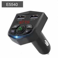 JINSERTA Car Bluetooth 5.0 Mp3 Player FM Transmitter Handsfree Audio Receiver car Pickandshop E5540