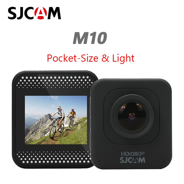 Original SJCAM M10 Sport Action Camera Full HD 1080P Diving 30M Underwater Waterproof Helmet Video Recording Cameras Sport Cam