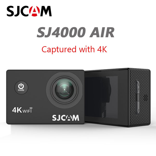 "SJCAM SJ4000 AIR 4K Action Camera Full HD 4K 30fps WIFI 2.0"" Screen Mini Helmet Waterproof Video Recording Sports Cam DV"