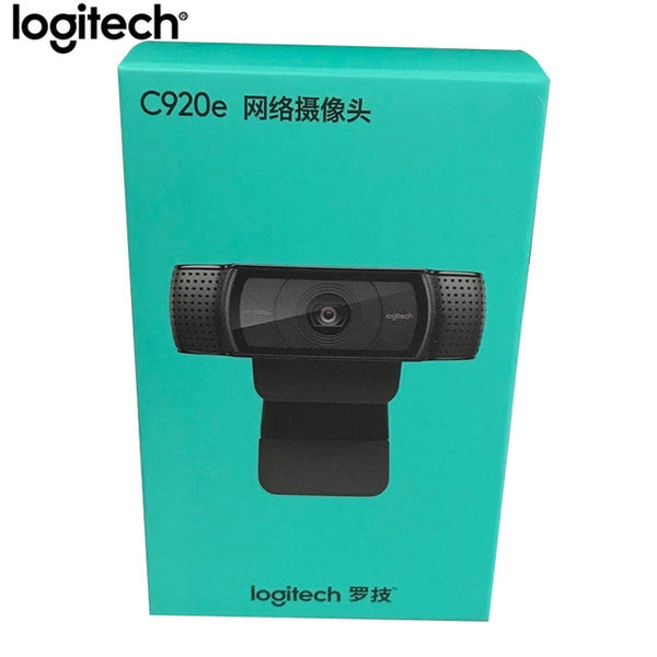 Logitech C920e HD Pro Webcam Widescreen Video Chat Recording USB Smart 1080p Web Camera For Computer C920 Upgrade Version CMOS