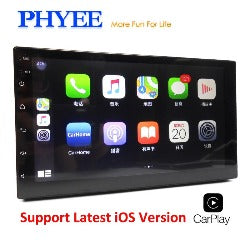 "2 Din Carplay Car Radio Mirror Link Bluetooth 7"" Touch Screen HD MP5 Video Player USB Aux Stereo Audio System Head Unit PHYEE X3 - Pickandshop"