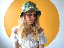 Load image into Gallery viewer, Handmade Jacquard Silk Bucket Hat