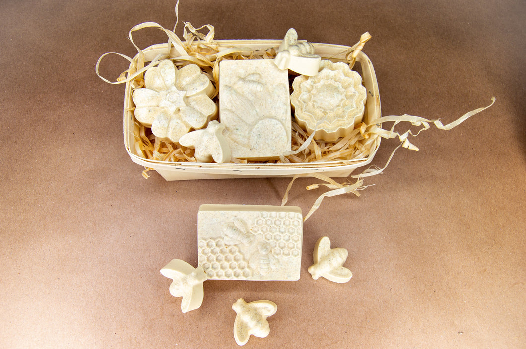 Honeycomb floral gift bundle