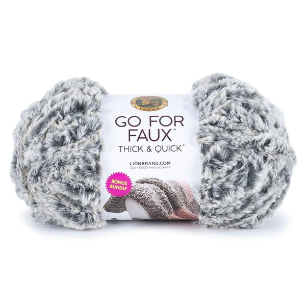 Lion Brand® Go for Faux Thick & Quick Bonus Bundle
