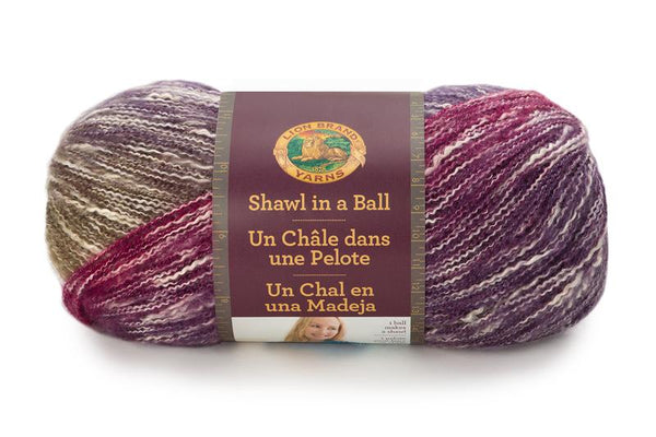 Lion Brand® Shawl in a Ball