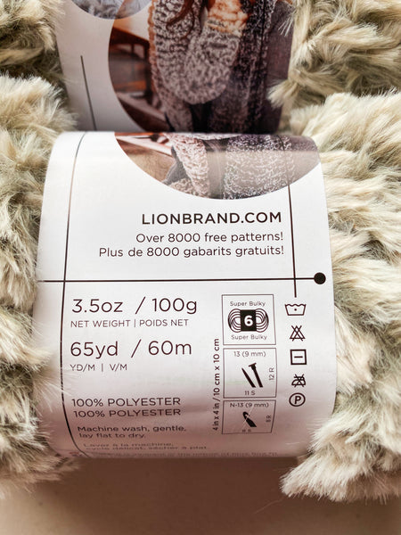Lion Brand® Go for Faux