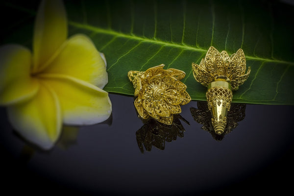 Lotus Kembang Earrings