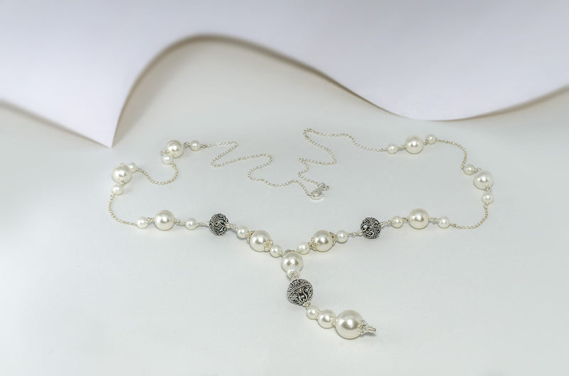 White Swan Necklace