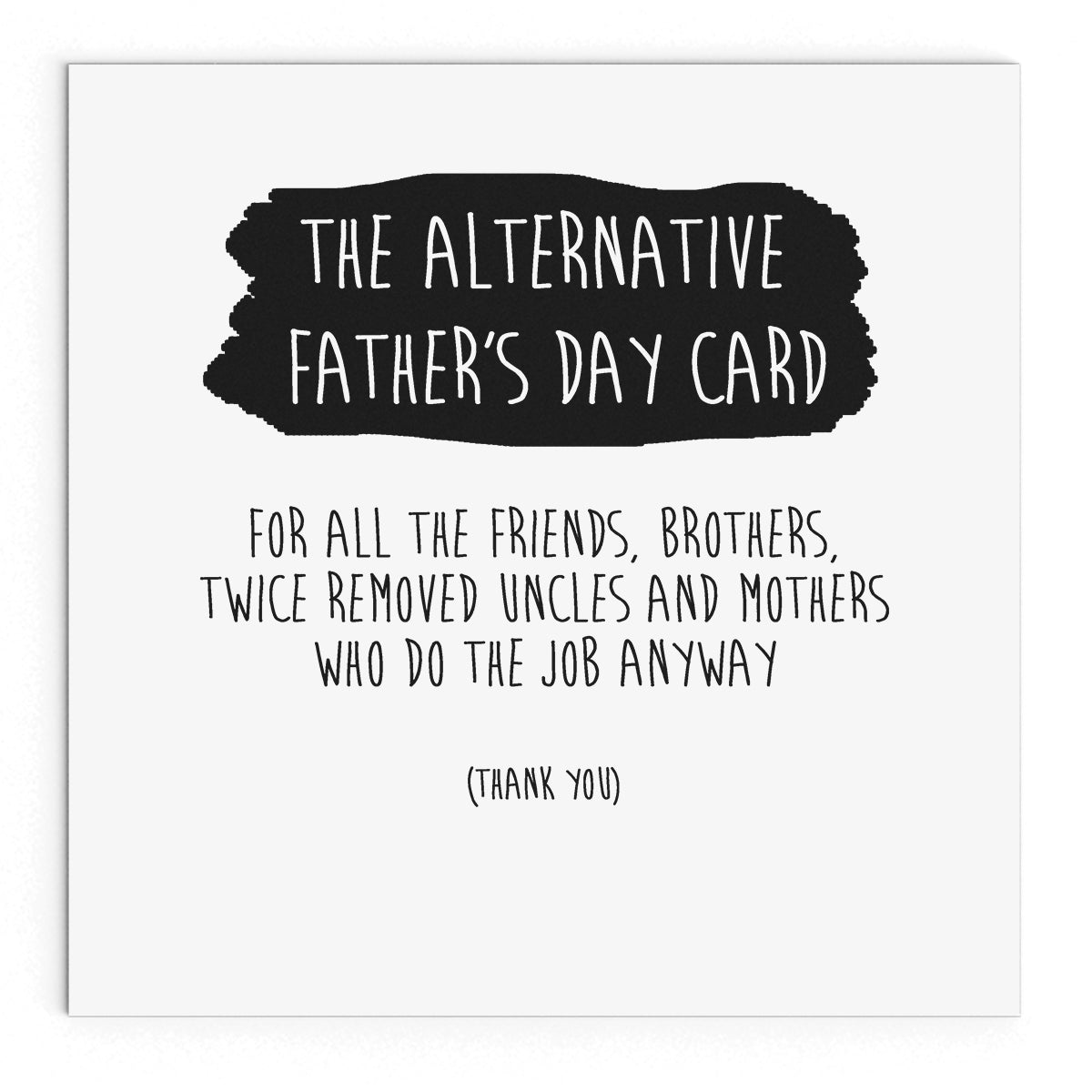 The Alternative Fathers Day Card The Naughty Little Card Shop