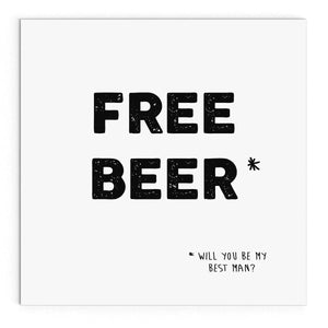 Free beer (best man)