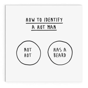 How to identify a hot man
