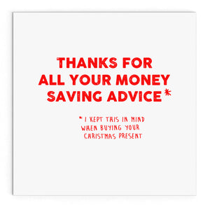 Money Saving Advice (Christmas)