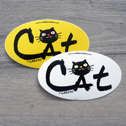 Pack de 2 adhesius 'Cat'