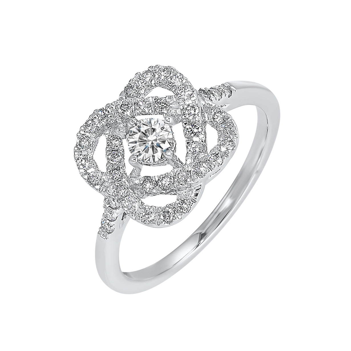 Love's Crossing Diamond Ring in 14K White Gold (1 ct. tw.)