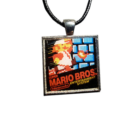 8Bit Plumber Necklace