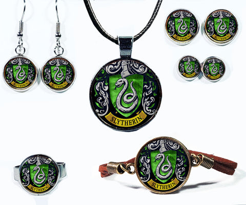 Magical Snake Crest Jewelry Collection