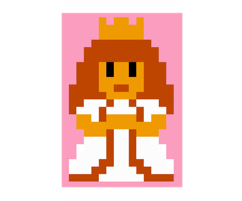 8 Bit Painting Kit (Princess)