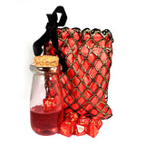 Red Dice Shaker Potion Bottle