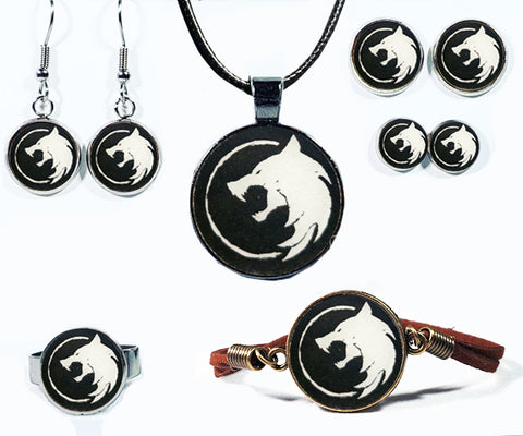 White Wolf Jewelry Collection