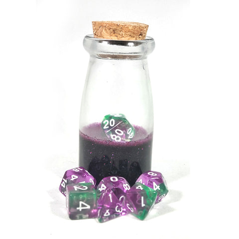 Evil Queen Dice Shaker Potion Bottle