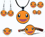 Cute Fire Monster Jewelry Collection