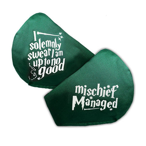 Mischief Managed / Up to No Good (Green/Silver)