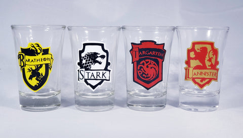 Game of Thrones Shotglass Set
