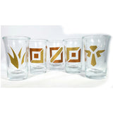 Summoner Shotglass Set