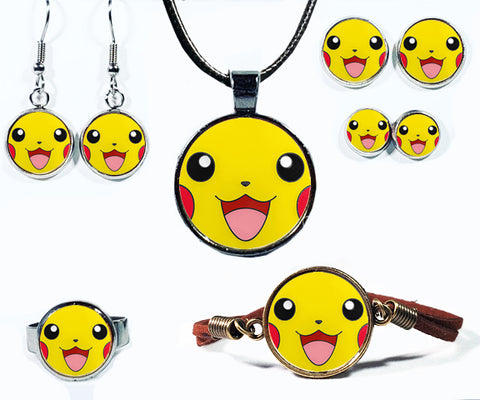 Cute Lightning Rat Monster Jewelry Collection