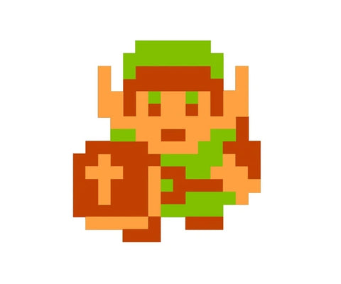 8 Bit Painting Kit (Tri Force Warrior)
