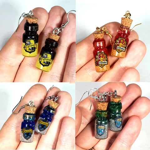 Magical Wizard Potion Earrings