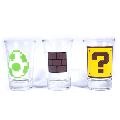 Retro Gaming Shotglass Set