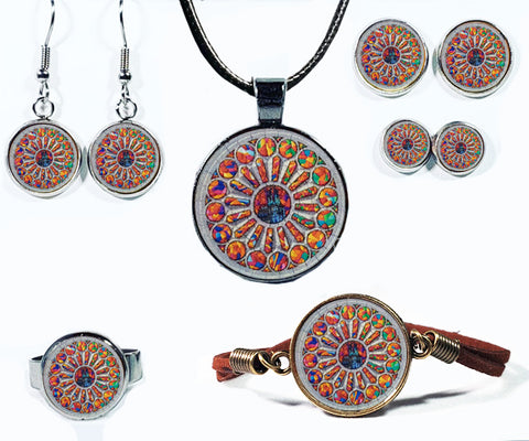 Stained Glass Jewelry Collection