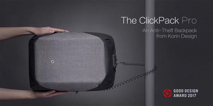 The ClickPack Pro An Anti-Theft Backpack - kingsons.com