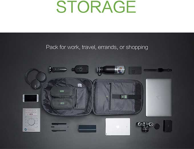 Pack for work,travel, errands, or shopping,Business anti-theft backpack - kingsons.com