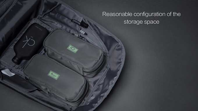 """Five major storage compartments for practical pocket-separation Fix it however you'd like,15.6"""" LAPTOP,iPad,USB charging cable,Power Cord,Clothes,Ticket,Pen,Electronic products,Toiletries ,Business anti-theft backpack - kingsons.com"""