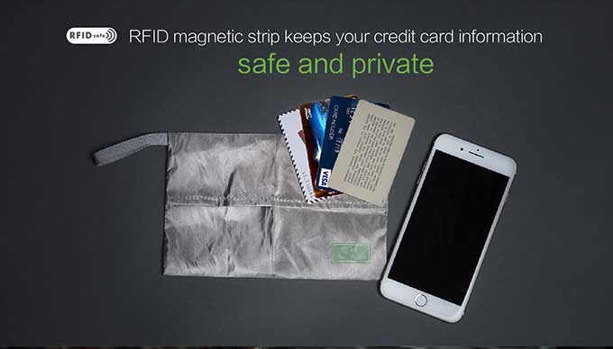 RFID magnetic strip keeps your credit card informationsafe and private,Business anti-theft backpack - kingsons.com