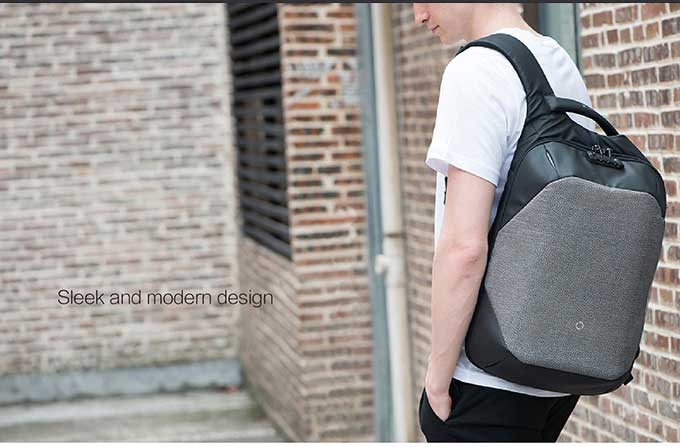 Korin ClickPack Anti-theft smart laptop Backpack 15.6 inches -  kingsons.com