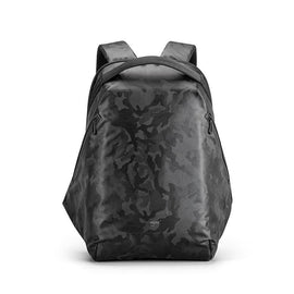Simple backpack with black pattern