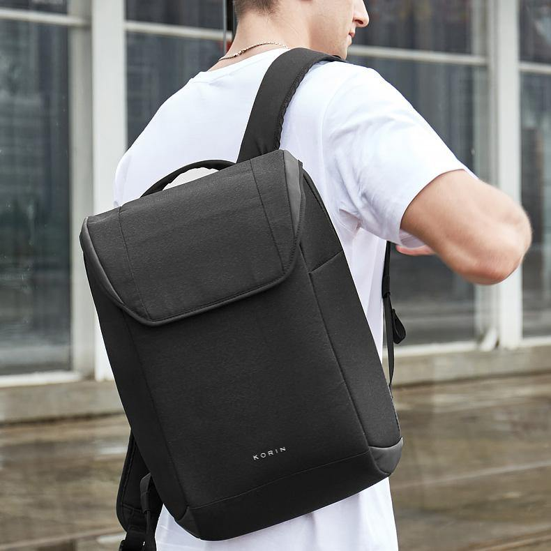 Korin ClickPack X-simple and practical anti-theft backpack - kingsons.com