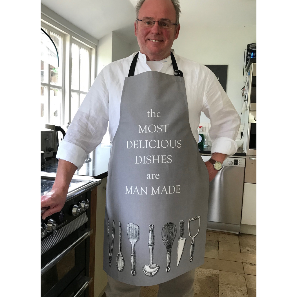 Delicious Dishes Apron for Men