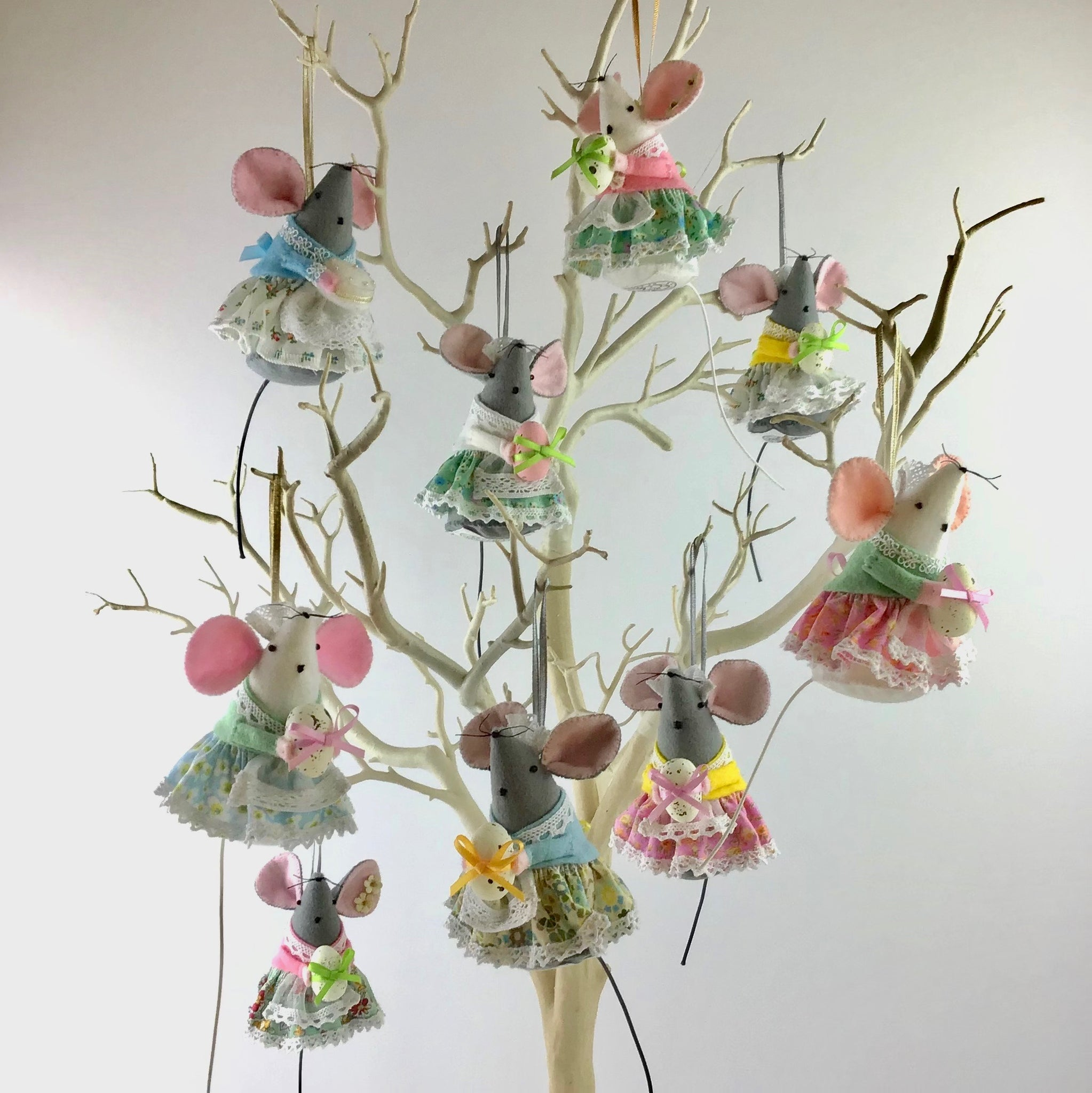 Easter 'Mischief Mice' Decorations